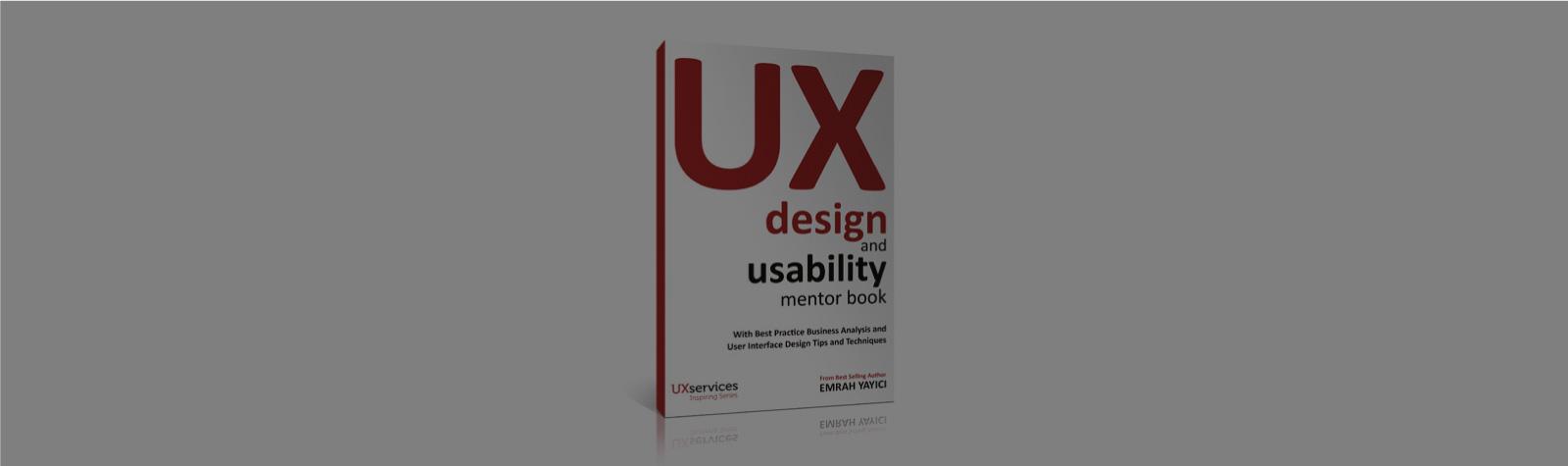 Kitabımız UX Design & Usability Mentor Book Amazon'da En Çok Satanlar Listesinde!