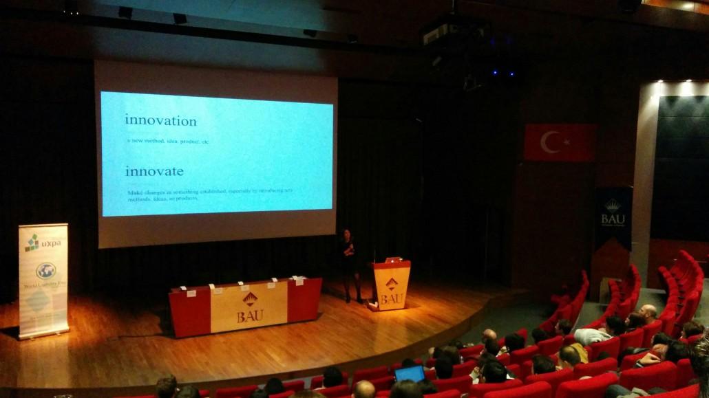 Dünya Kullanılabilirlik Günü (WUD) İçin Bahçeşehir Üniversitesi'ndeydik