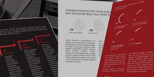 Türkiye Kullanıcı Deneyimi Raporu'nda Bu Yıl Hangi Sorular Olsun?