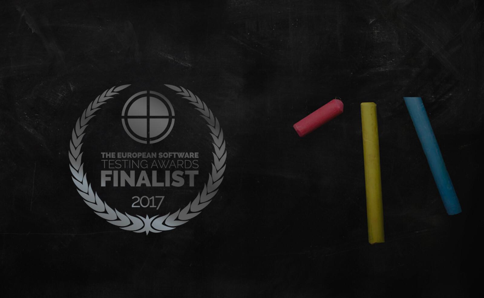 European Software Testing Awards'da Finaldeyiz